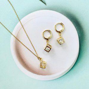 14K Gold Jewelry Set.